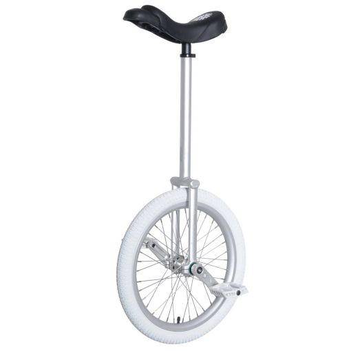 "20"" Nimbus Eclipse-Pro Unicycle - Silver"