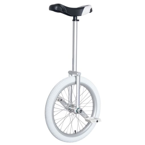 "20"" Nimbus Equinox-Pro Unicycle - Silver"
