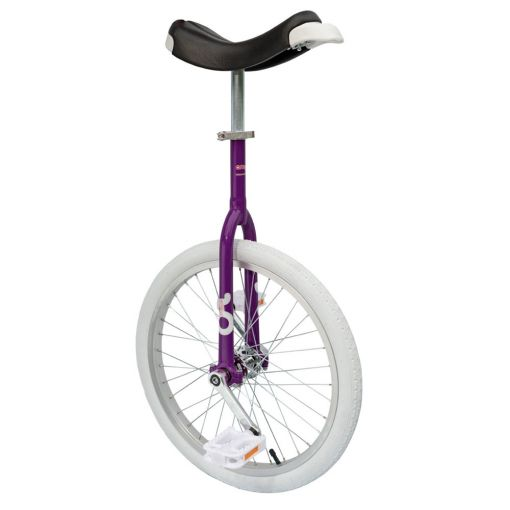 "20"" OnlyOne Learner Unicycle - Purple/Fuchsia"