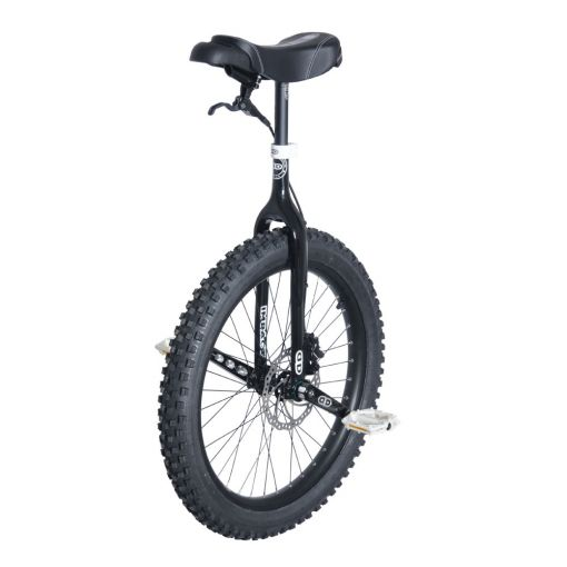"24"" Impact Gravity MUni Unicycle - Black (42mm)"
