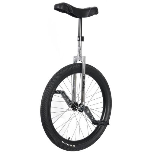"24"" Nimbus II Unicycle - Black/Chrome"
