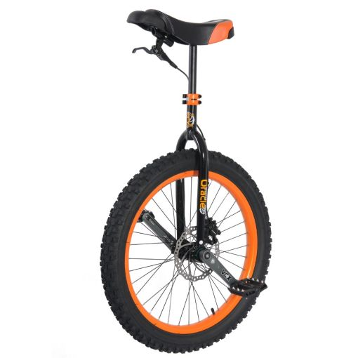 "24"" Nimbus 'Oracle' MUni Unicycle - Orange"