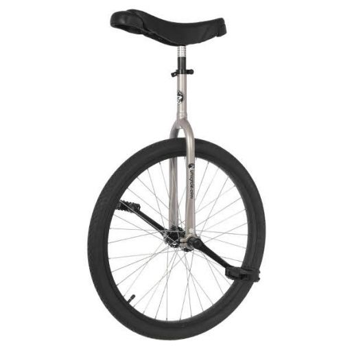 "24"" Adult Trainer Unicycle - Silver"