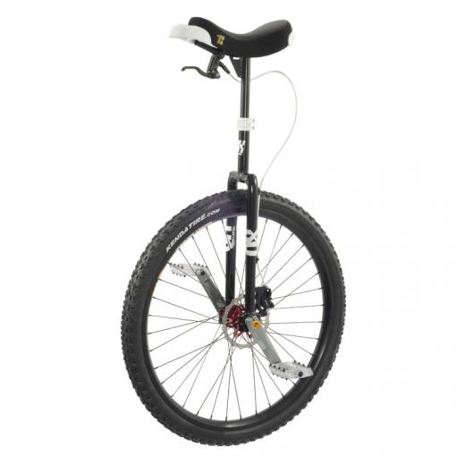 "29"" Q-Axle Disc Unicycle - Black"