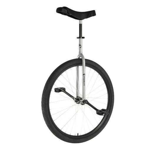 "29"" Adult Trainer Unicycle - Silver"