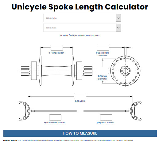 How to work out your spoke length
