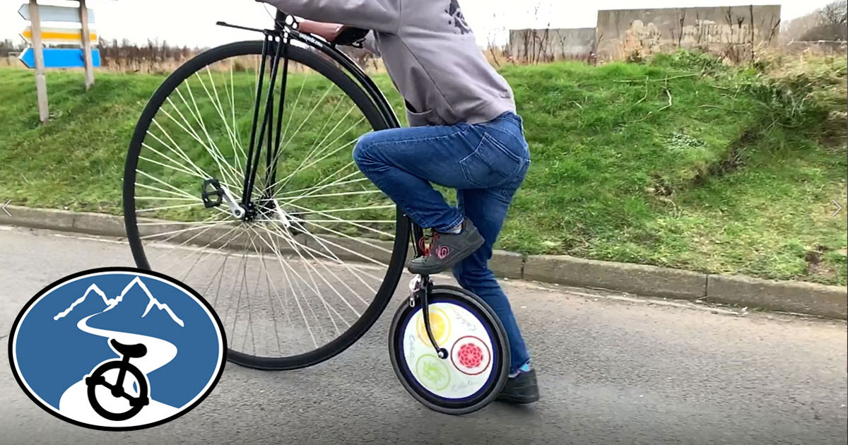 Tutorial how to mount a penny farthing
