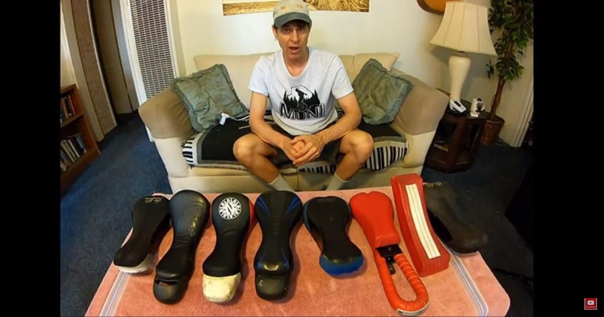 Terry Peterson reviews the Nimbus Air Saddle